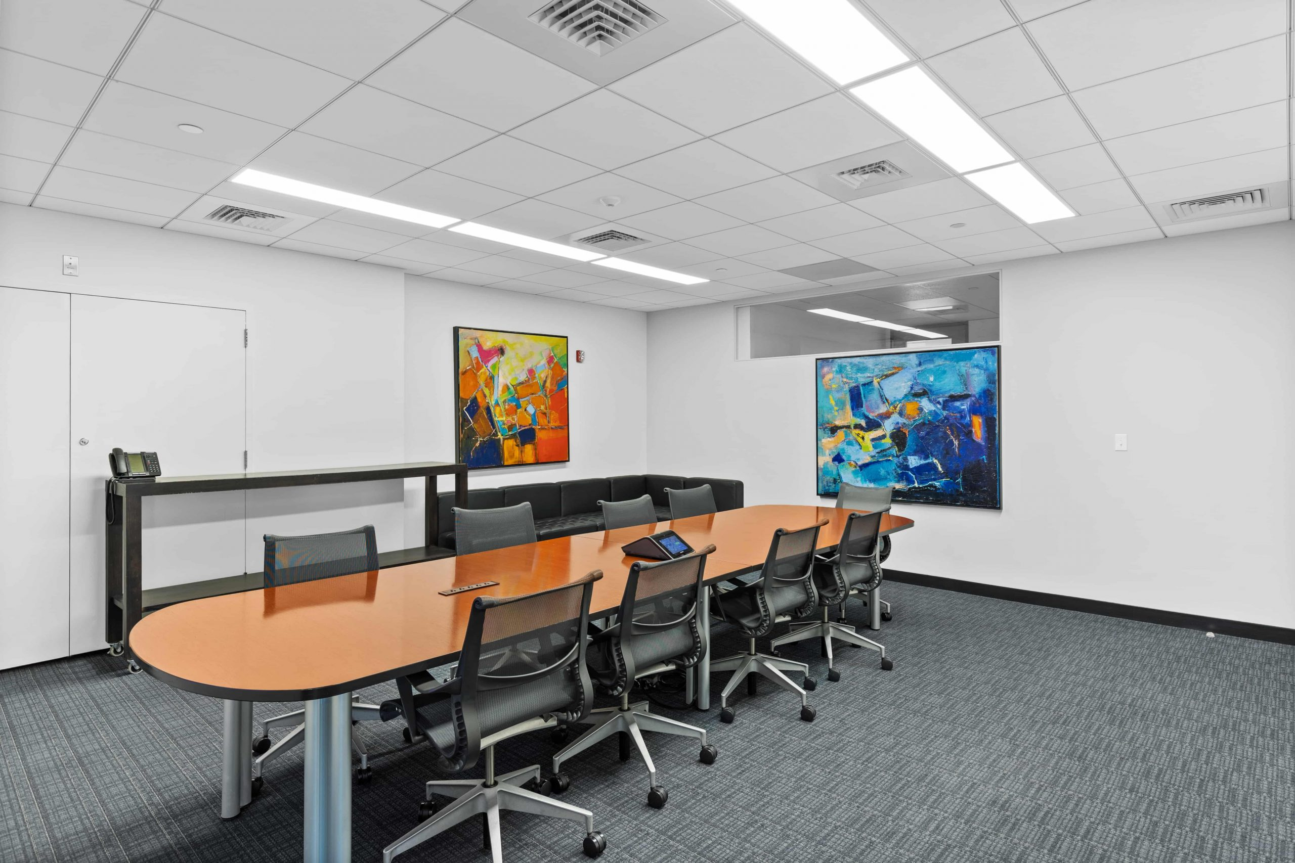 One Boston Place Board Room