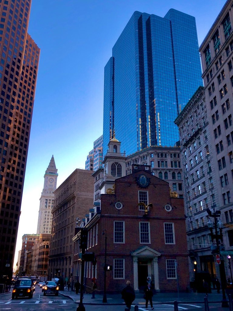 Old State House, MBTA Boston Commute