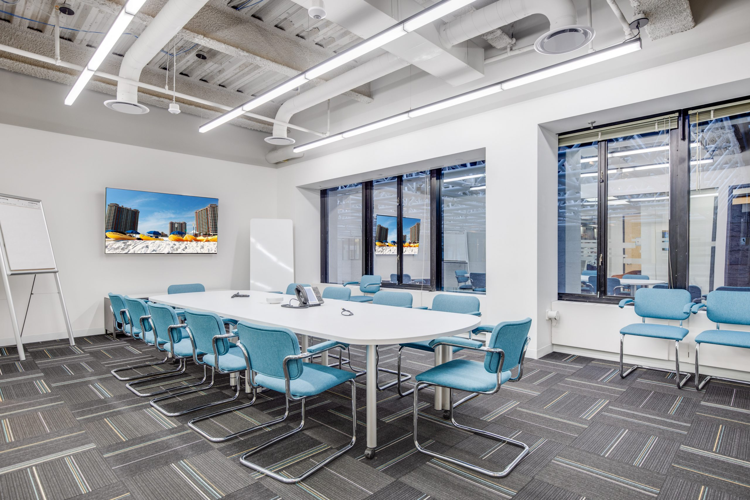 Meeting room space at 53 State Street