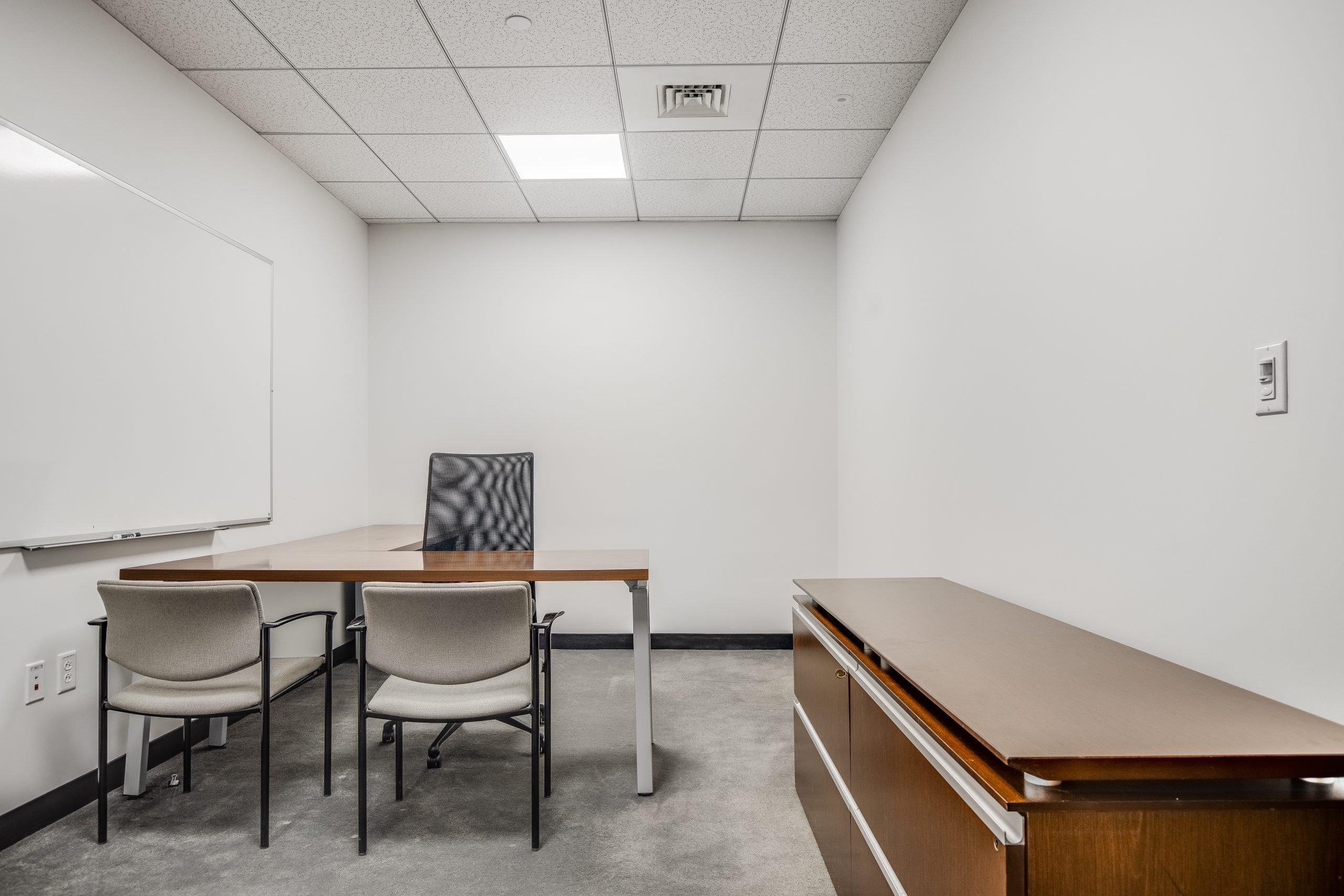 Private office at One Boston Place