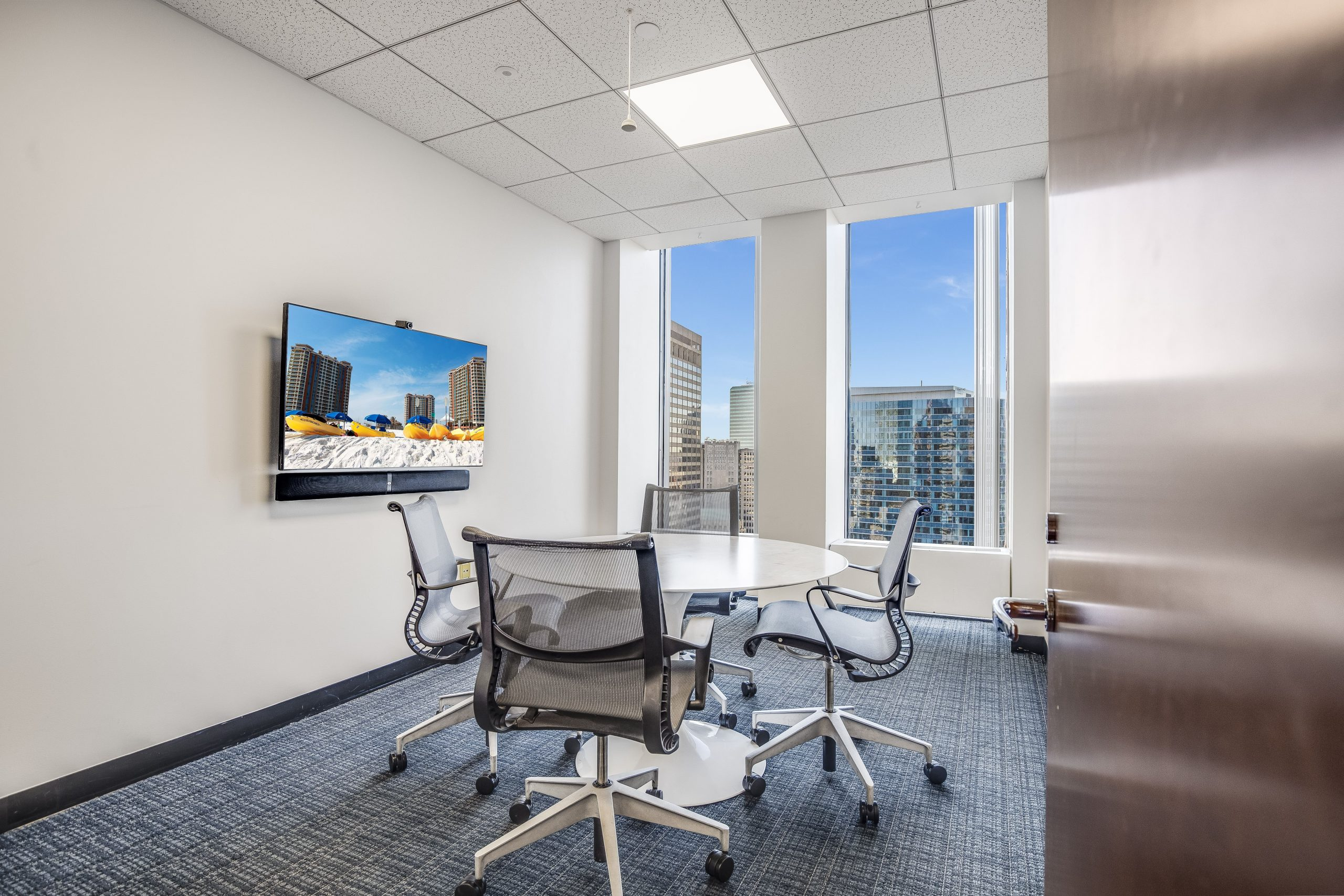 26 floor meeting room views in Boston